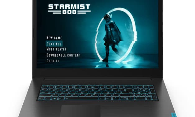 "Lenovo Ideapad L340-17IRH (81LL00HNFR), PC portable 17"" gamer créateur rapide GTX 1650 (899€)"