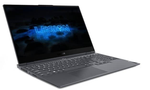 """Lenovo Legion Slim 7i, Ultrabook 15"""" 4K gamer fin et léger avec Octo Core i9, GeForce RTX, Thunderbolt 3 et Wi-Fi ax"""