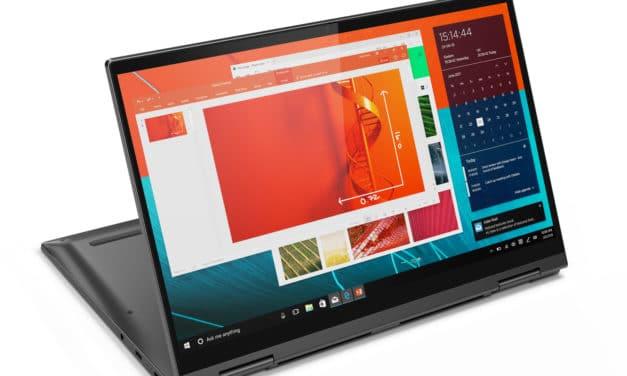 "Lenovo Yoga C740-14IML (81TC0028FR), Ultrabook 14"" tactile > Tablette 9h léger SSD 1 To (1199€)"