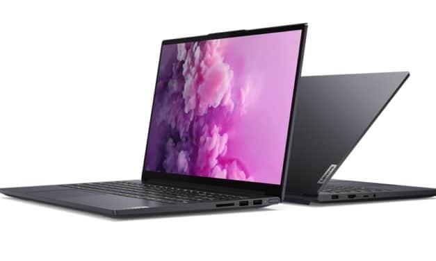 "Lenovo Yoga Slim 7 15IMH05, Ultrabook 15"" aluminium orienté création avec GTX 1650, Comet Lake-H, TB3, 12h"