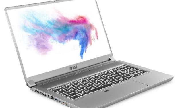 """<span class=""""promo"""">Promo 3079€</span> MSI Creator 17 A10SFS-681FR, ultrabook 17"""" puissant Octo Core Mini LED 4K Pro pour créatifs et joueurs"""
