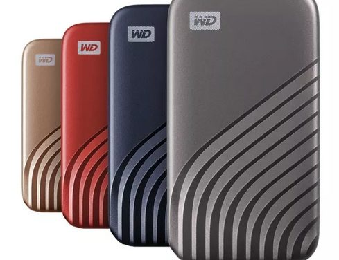 Western Digital My Passport SSD, nouveaux SSD externes colorés de 500 Go à 2 To
