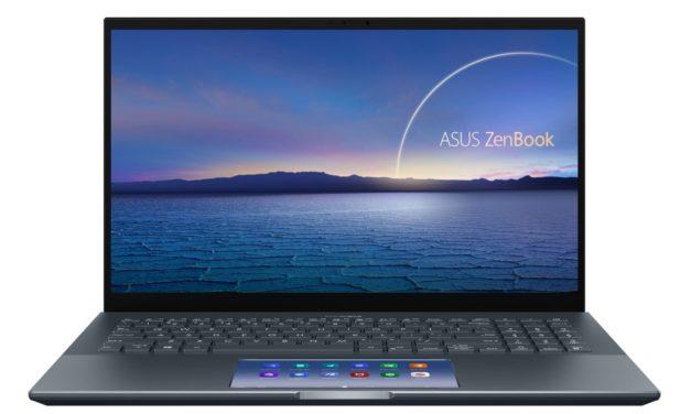 Asus Zenbook Pro 15 UX535, ultrabook 15 pouces léger pour créatifs avec ScreenPad