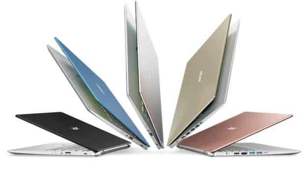 """Acer Aspire 5 A514-54, A515-56 et A517-52, Ultrabooks polyvalents colorés 14"""", 15"""" et 17"""" Tiger Lake polyvalents et tactiles"""