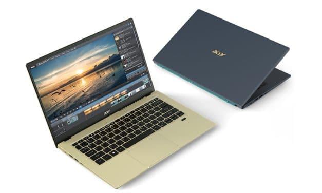 Acer Swift 3X SF314-510G, Ultrabook polyvalent Tiger Lake avec carte graphique dédiée Iris Xe Max nomade 17h30