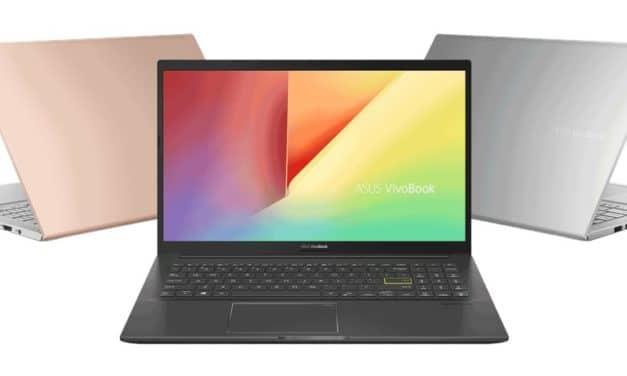 """Asus VivoBook K413EA(EQ) et K513EA(EQ), Ultrabooks 14"""" et 15"""" Tiger Lake Iris Xe colorés avec SSD GeForce MX350 et Wi-Fi ax"""