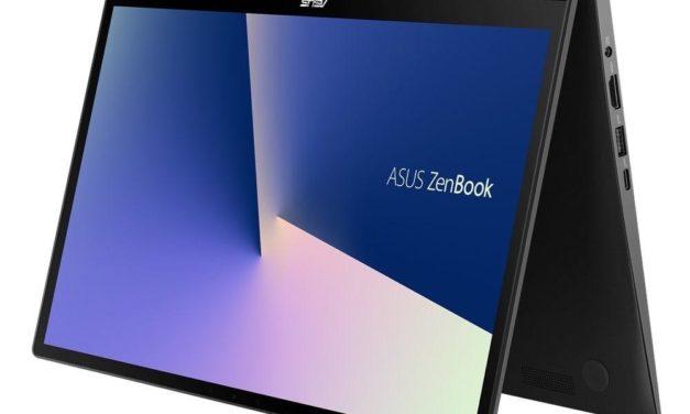 """<span class=""""promo"""">Promo 1279€</span> Asus Zenbook Flip UX463FA-AI058T, ultrabook 14 pouces convertible tablette rapide avec ScreenPad"""