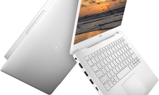 """<span class=""""nouveau"""">Nouveau 491€</span> Dell Inspiron 14 5490, Ultrabook 14"""" Full HD argent pas cher léger fin et rapide avec SSD 12h"""