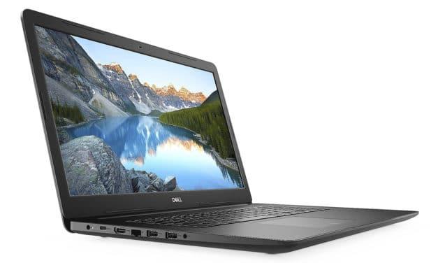 """Dell Inspiron 17 3793, PC portable 17"""" noir rapide avec SSD 512 Go et graveur CD/DVD (799€)"""