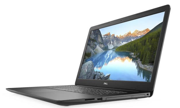 "Dell Inspiron 17 3793, PC portable 17"" Full HD noir avec graveur CD/DVD, SSD 512 Go et USB-C (629€)"