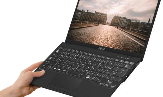 "Fujitsu LifeBook UH-X/E3, Ultrabook 13"" très léger d'environ 600 grammes avec Tiger Lake et Iris Xe autonomie 11h"