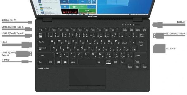 Fujitsu LifeBook UH-X/E3