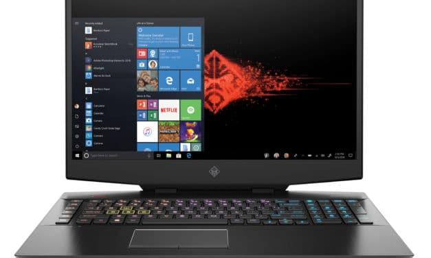 HP Omen 17-cb1001nf, PC gamer 17 pouces 144Hz et RTX 2060 (1341€)