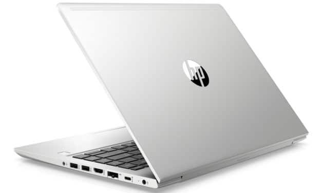 """HP ProBook 440 G7 (175S2EA), Ultrabook 14"""" Pro argent 8h  rapide et léger avec gros stockage 1.2 To  Wi-Fi ax (1114€)"""
