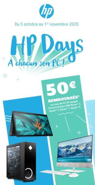 HP remboursement 50 euros 1ernov20