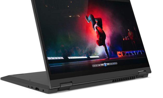 "<span class=""promo-best"">Promo 599€</span> Lenovo IdeaPad Flex 5 14ARE05 (81X20094FR), PC portable 14"" tactile > Tablette poyvalent AMD fin et léger"
