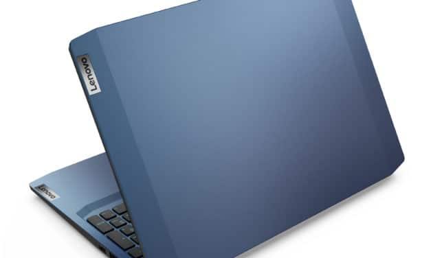 "Lenovo IdeaPad Gaming 3 15ARH05 82EY-471 (82EY000AFR), PC portable 15"" polyvalent gamer AMD bleu GTX 1650 (699€)"