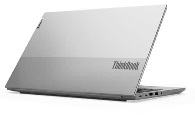 Lenovo ThinkBook 14 et 15 G2 ARE, PC portables Aluminium AMD Renoir Octo Core Ryzen fins et légers avec SSD et Wi-Fi ax