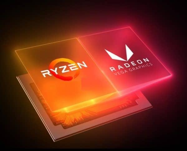 Logo AMD Ryzen Radeon Vega