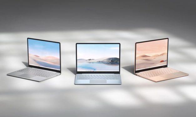 """<span class=""""tagtitre"""">Microsoft Surface Laptop Go - </span>Ultrabook 12.5 pouces, 13 heures d'autonomie"""