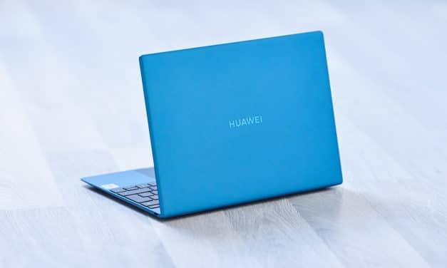 """<span class=""""tagtitre"""">Test Huawei MateBook X 2020 - </span>Un PC portable 14 pouces silencieux (fanless) et léger..."""