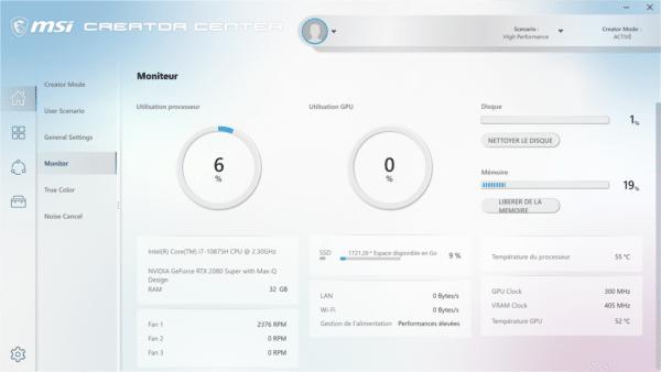 Test MSI Creator 17 A10S, PC portable pour créatifs