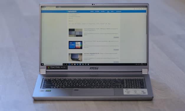"""<span class=""""tagtitre"""">Test MSI Creator 17 - </span>le PC portable pour photographes avec écran mini-LED"""