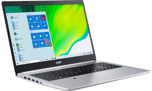 Acer Aspire 5 A515-45, un PC portable 15 pouces avec processeur AMD Ryzen 7 5700U apparaît sur la toile