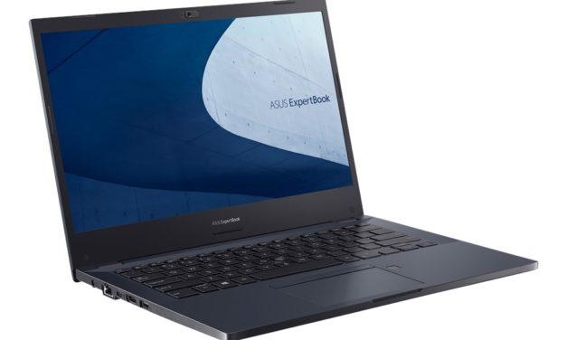 """Asus ExpertBook P2451, Ultrabook 14"""" Pro bleu Comet Lake avec double stockage et Wi-Fi ax 13h"""