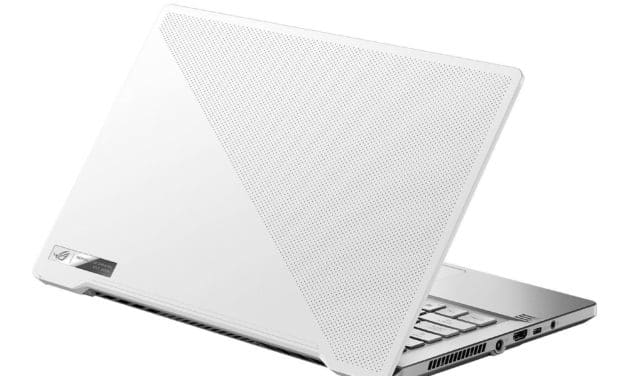 """Asus ROG Studio Pro 14 PX401IV-BM166R, Ultrabook 14"""" créateur gamer blanc RTX 2060 AMD Octo Core SSD 1 To (1739€)"""
