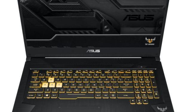 Asus TUF705DT-AU272T(AU927T), PC gamer 17 pouces pas cher, jeu et polyvalence (799€)