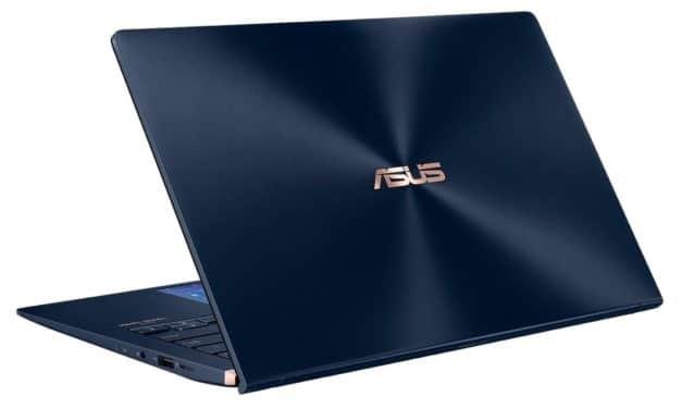 Asus Zenbook UX434FA-A5144T, ultrabook 14 pouces bleu élégant et rapide (999€)