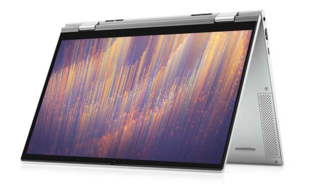 "Dell Inspiron 13 7306 2-en-1, Ultrabook 13"" tactile > Tablette polyvalent Tiger Lake Iris Xe TB4 léger fin et rapide (1110€)"