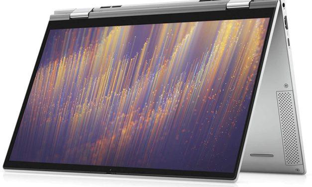 "Dell Inspiron 13 7306 2-en-1, Ultrabook 13"" 4K tactile > Tablette Tiger Lake Iris Xe Thunderbolt 4 Wi-Fi ax"