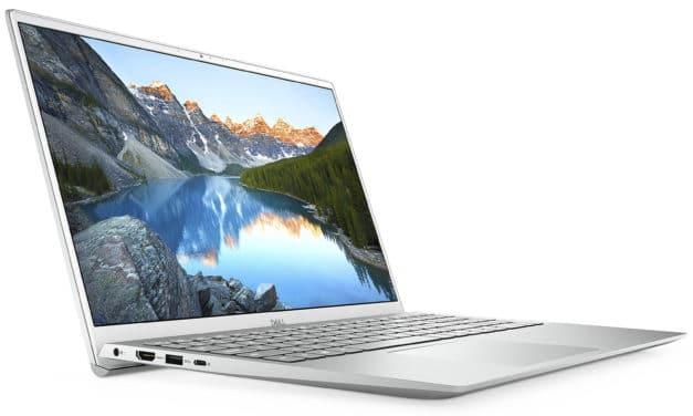 "Dell Inspiron 15 5502, Ultrabook 15"" Full HD argent polyvalent Tiger Lake Iris Xe avec Wi-Fi ax (720€)"
