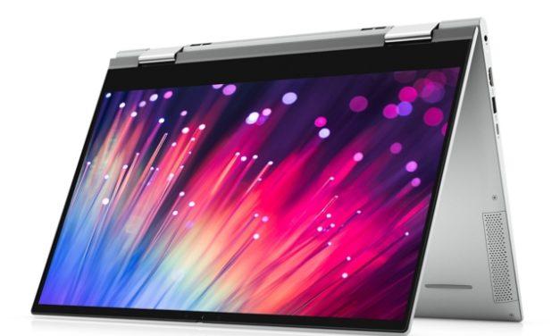 """Dell Inspiron 15 7506 2-en-1, Ultrabook 15"""" 4K tactile > Tablette polyvalent avec carte graphique Iris Xe Max et Tiger Lake"""
