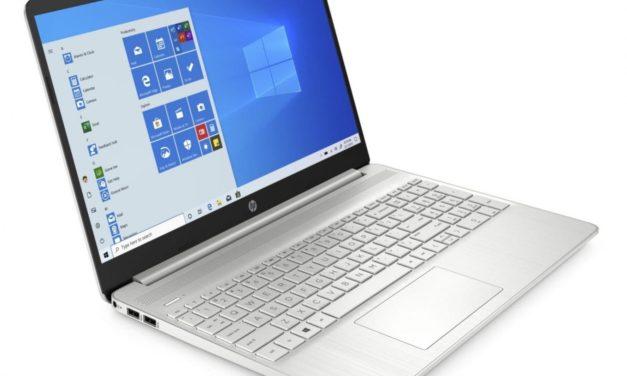 HP 15s-fq1049nf, ultrabook 15 pouces pas cher pour la bureautique (499€)