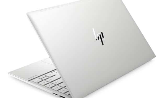 HP Envy 13-ba1025nf, Ultrabook 13 pouces polyvalent Tiger Lake Iris Xe fin léger et rapide avec SSD 1 To, TB4 et Wi-Fi ax (949€)