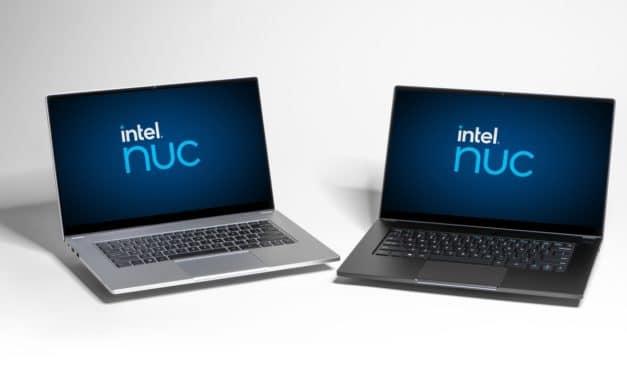 Intel NUC M15 (Bishop County), un PC portable Ultrabook Tiger Lake Evo 16h sous marque blanche à personnaliser