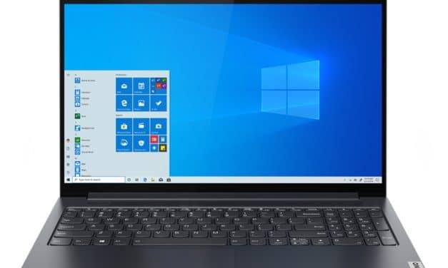 "Lenovo IdeaPad Slim 7 14ITL05 et 15ITL05, Ultrabook 14"" et 15"" 16h avec Tiger Lake, Iris Xe, SSD et Thunderbolt 4"
