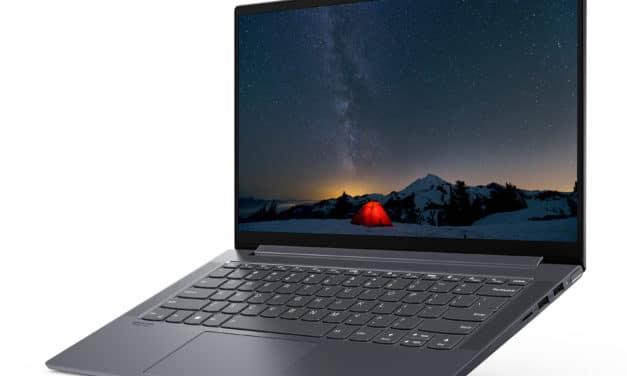 """Lenovo Yoga Slim 7 14ARE05 (82A2001WFR), PC portable 14"""" polyvalent argent léger fin et rapide avec Webcam Infrarouge (999€)"""