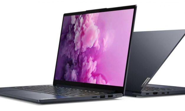 Lenovo Yoga Slim 7 14IIL05, ultrabook 14 pouces 4K multimédia léger et rapide (1429€)