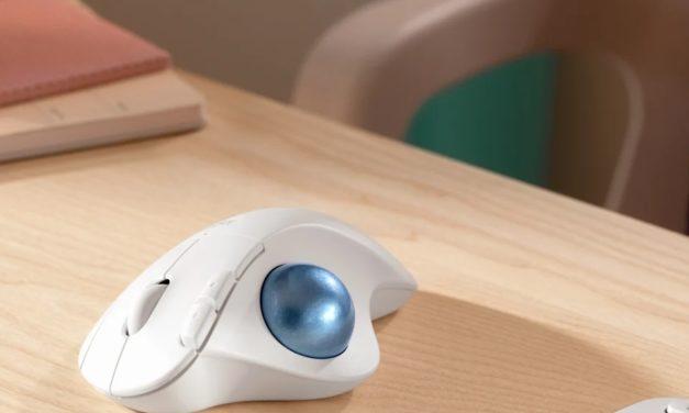 Logitech Ergo M575, nouvelle souris sans-fil ergonomique avec Trackball