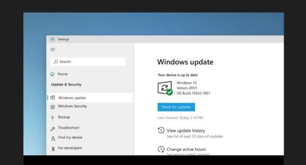 Windows 10 21H2 design Sun Valley arrondis