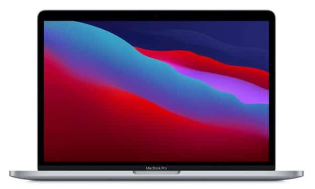 """<span class=""""nouveau"""">Nouveau 1679€</span> Apple MacBook Pro 13 M1, ultrabook 13 pouces premium et puissant avec 17h d'autonomie (prix et avis)"""