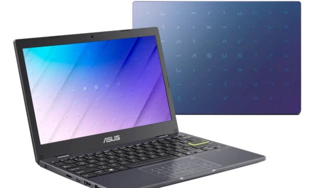 Asus VivoBook E210MA-GJ073T, ultraportable 12 pouces léger et pas cher bureautique (379€)