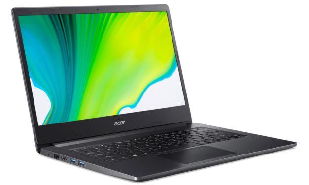Acer Aspire 3 A314-22-R9SK, PC portable 14 pouces rapide pour la bureautique avec 12 Go de RAM (589€)