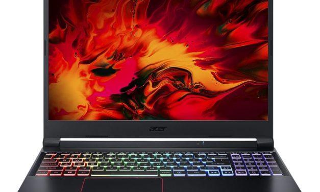 Acer Nitro AN515-44-R8P7, PC portable 15 pouces gamer puissant avec Octo Core (1007€)