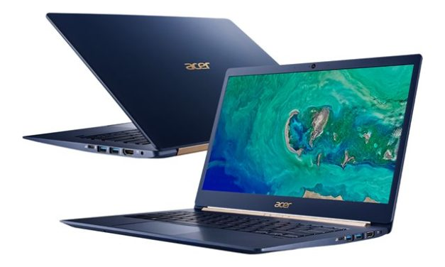 "Acer Swift 5 SF514-55TA-53TH, Ultrabook 14"" tactile polyvalent bleu Tiger Lake Iris Xe 9h léger 1Kg fin rapide (1214€)"