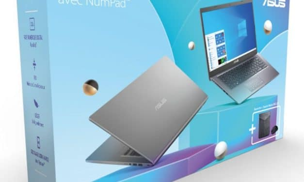 """Asus R415JA-EK143T, Ultrabook 14"""" argent rapide fin et léger NumPad en pack avec sacoche et souris (499€)"""